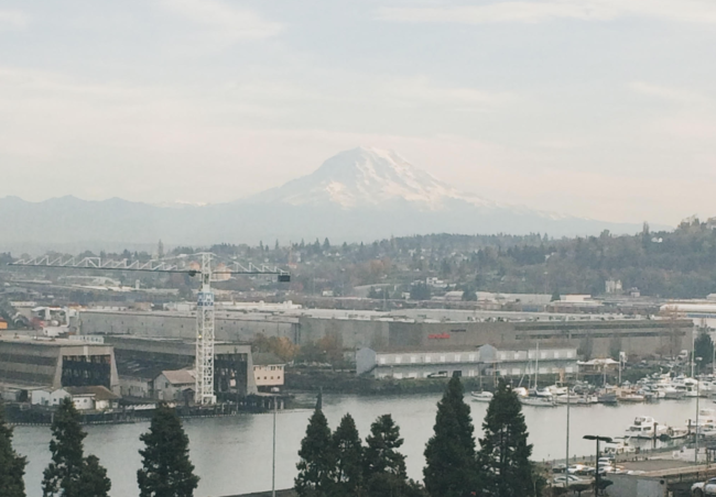 view from Tacoma