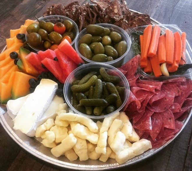 cheese platters and more