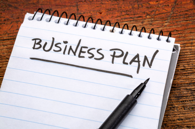 stock image business plan