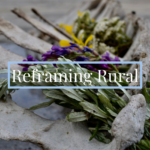 Reframing Rural's Logo for Celebrating Dreams website Showcase