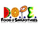 D.O.P.E FOOD AND SMOOTHIES' Logo for Celebrating Dreams website Showcase