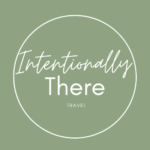 Intentionally There - Travel' Logo for Celebrating Dreams website Showcase