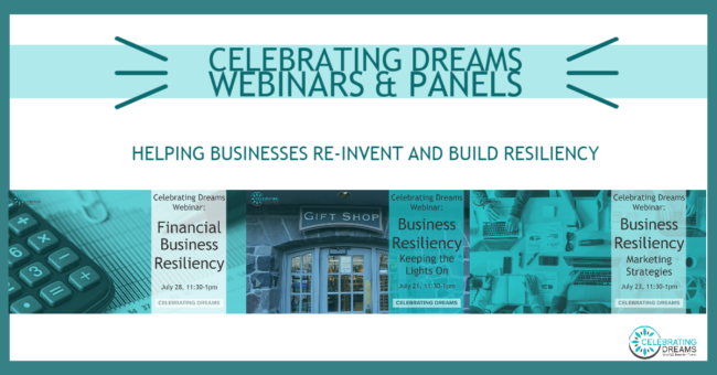 Celebrating Dreams Webinars & Panels