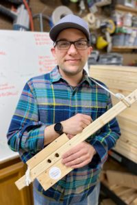 Loren Kite is the Owner of Kids Carpentry and a judge of Impact Pitch 2020