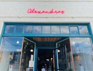 Storefront of Alexandras Macarons