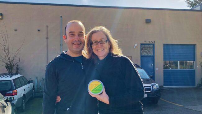 Jody Haynes and Tomer Shneor of ZIVA Mediterranean Foods