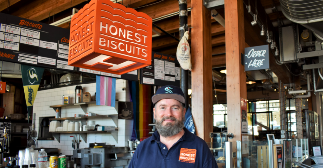 Art Stone of Honest Biscuits Business Impact NW