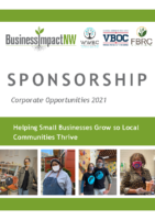 Business Impact NW 2021 Sponsorship Opportunities